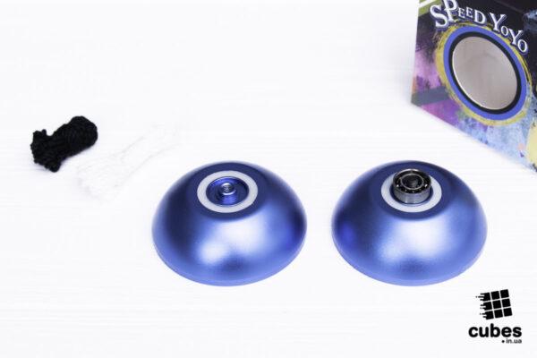 Йо-йо Xuan Yo-Yo синее (алюминий)