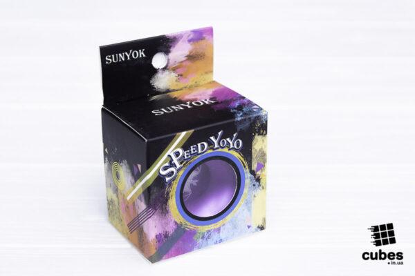 Йо-йо Sunyok Speed Yo-Yo фиолетовое (алюминий)
