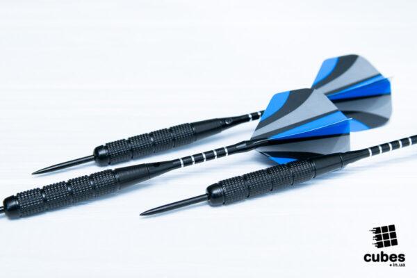 Продвинутые дротики «Blue strike» 3 шт. (+аксессуары)