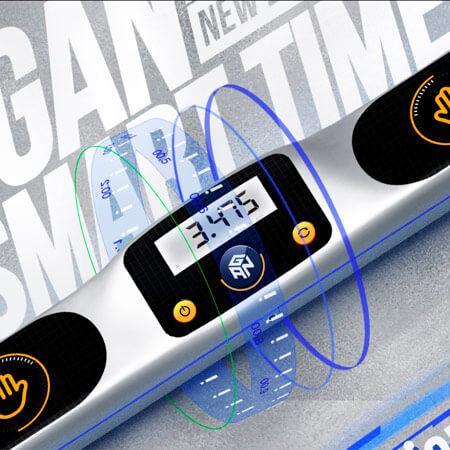 Таймер GAN Smart Timer серебристый