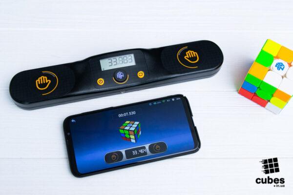 Таймер GAN Smart Timer чорный (Android, IOS)