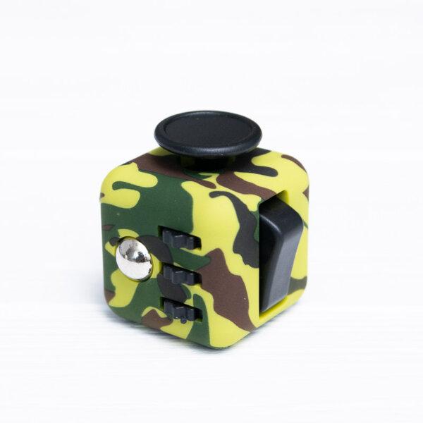Антистресс куб Fidget cube камуфляжный зеленый