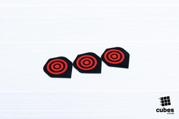 Оперение для дротика «Red Aim»