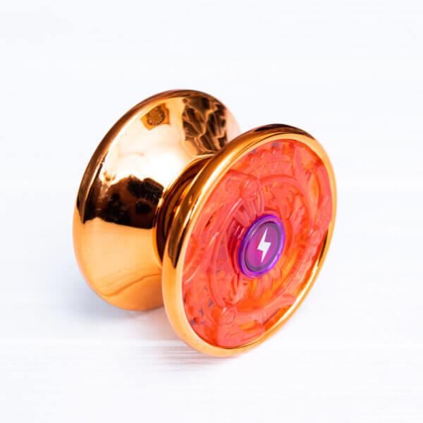 Йо-йо для новичков YaQiLi Toys оранжевое (пластик+металл)