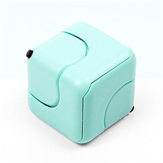 Антистресс кубик-спиннер Gyro Cube салатовый