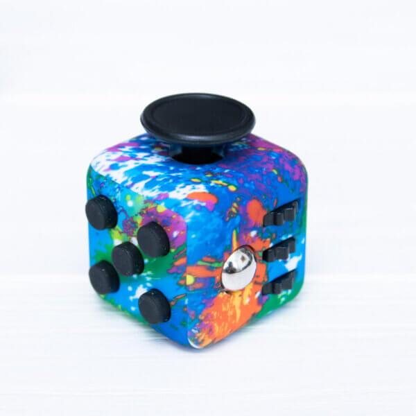 Антистрес кубик Fidget куб кольоровий, райдужний