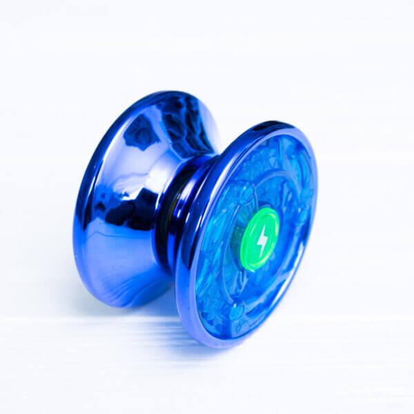 Йо-йо для новичков YaQiLi Toys синее (пластик+металл)