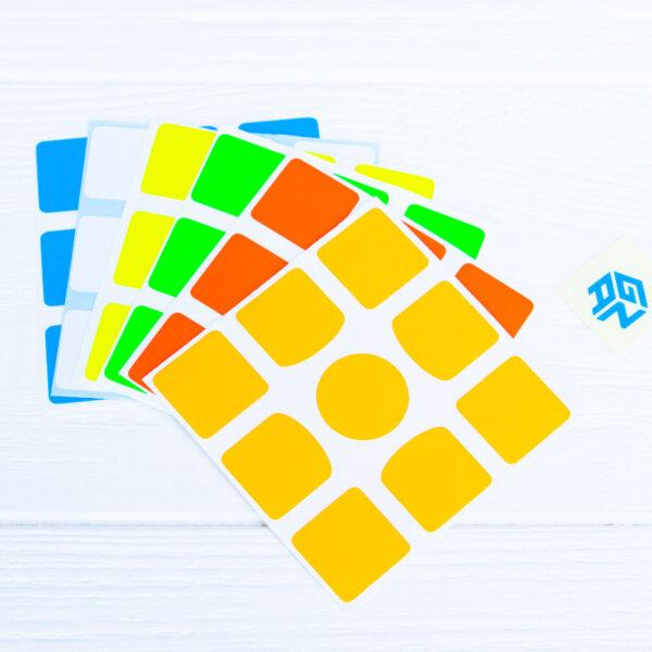 Оригинальные наклейки (стикеры) для кубика GAN