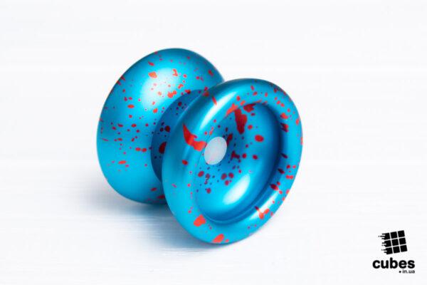 Профессиональное Yo-Yo из алюминия Sunyok «Red Drops»